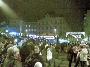 Náměstí svodoby, Brno, Vánoce 2009