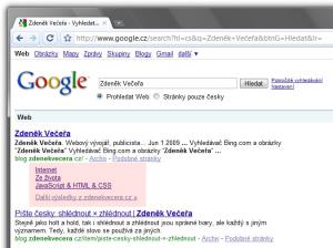 Google Zdeněk Večeřa
