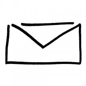 E-mail, obálka, dopis
